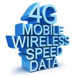 4G latest wireless communication technology standard — Stock Photo