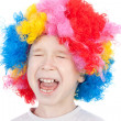 Stock Photo: Cute little clown