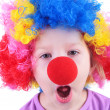 Cute little clown — Stock Photo #10488739