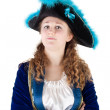 Young female pirate — Stock Photo #10489852