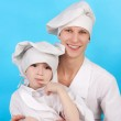 Cute cooks — Stock Photo