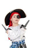 Little pirate — Stock Photo
