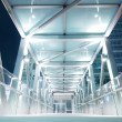 Bright elevated walkway — Stock Photo