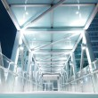 Stock Photo: Bright elevated walkway