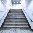 Stock Photo: Staircase in underground