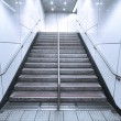 Staircase in underground - Stock Photo