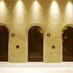 Three elevators — Stock Photo