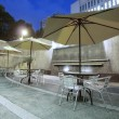 Outdoor restaurant — Stockfoto