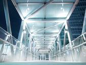 Bright elevated walkway — Stock Photo