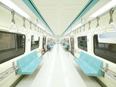 Interior of carriage — Stock Photo