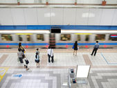 MRT station — Stock Photo