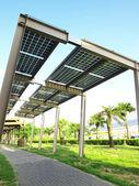 Power solar panel — Stock Photo