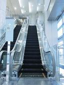 Bright escalator — Stock Photo