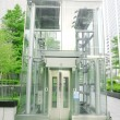 Transparent elevator — Stock Photo #9097480