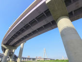 Highway viaduct — Stock Photo