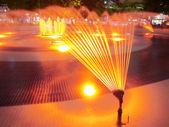 Heldere fontein — Stockfoto