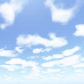 Vackra molnlandskap — Stockfoto