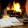 Fireside — Stock Photo