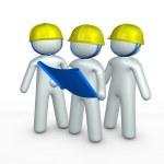 Contractors — Stock Photo