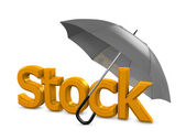 Stock umbrella — Stock Photo