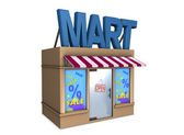 Mart — Stock Photo