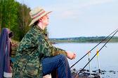 The fisherman. — Stock Photo