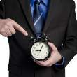 Boss upset because you are late — Stock Photo