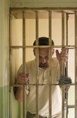 Behind bars — Stock Photo