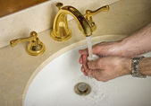 Washing hands — Stock Photo