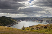 Saint Johns Newfoundland Harbour — Stock Photo