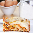 meat lasagna — Stock Photo #8975653