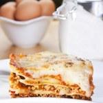 Meat lasagna — Stock Photo