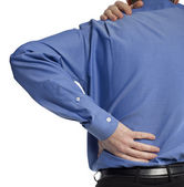 Back ache — Stock Photo