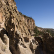 Stock Photo: Cliff Dwellings at Bandrlier New Mexico