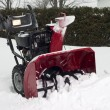 Stock Photo: Snow blower