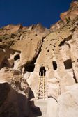 Bandelier New Mexico Cliff Dwellings — Stock Photo
