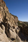 Cliff Dwellings at Bandrlier New Mexico — Stock Photo