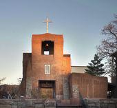 San Miguel Mission Santa Fe — Stock Photo