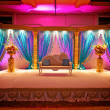 Indian Wedding Mandap — Stock Photo #10350146