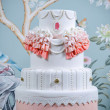 Stock Photo: Wedding Cake