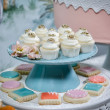 Wedding Cupcakes — Stockfoto #10395383