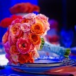 Colorful wedding bouquet — Stock Photo