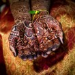 Henna Tattoo Hands — Stock Photo #10413061