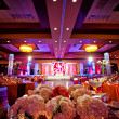 Stock Photo: Decorated Ballroom for IndiWedding