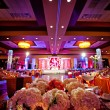 Decorated Ballroom for Indian Wedding — Stock Photo