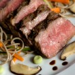 Seared japanese beef — Stock Photo