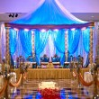 Stock Photo: Indiwedding mandap
