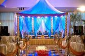 Indian wedding mandap — Stock Photo