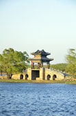 Typical Chinese architecture, Pavilion — Stock Photo