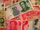 China Currency — Stock Photo